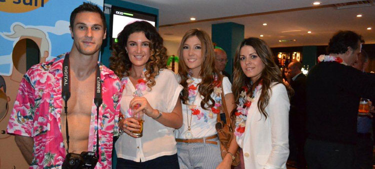 Impact added a touch of glamour, colour and fun to the Days Inn Hotel Launch