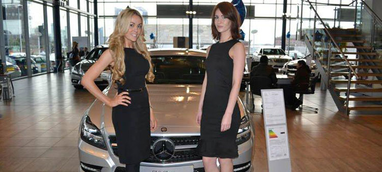 Launch of Mercedes 2011 CLS